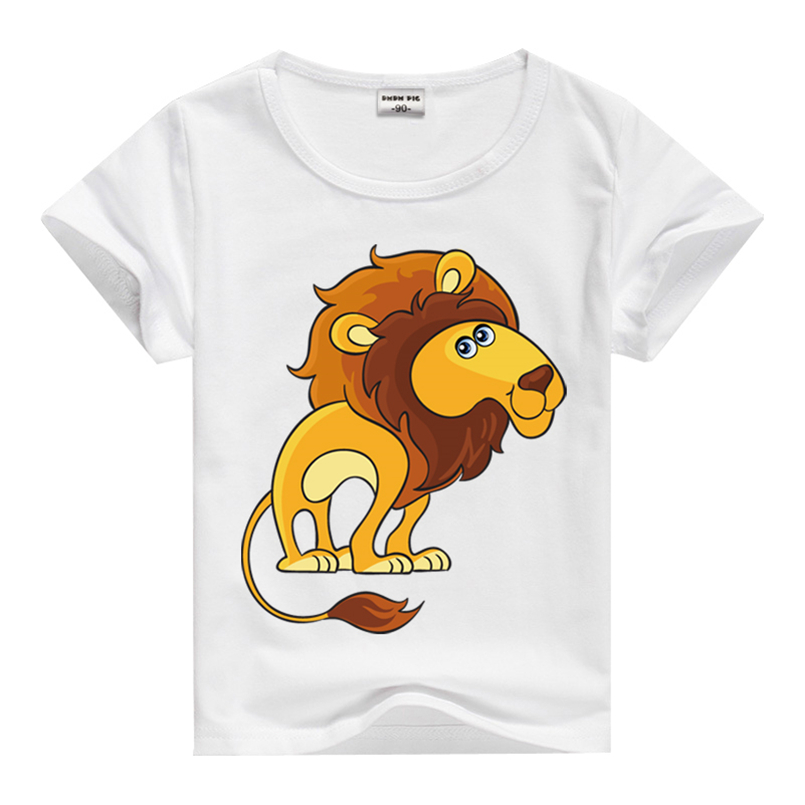 New 2016 Spring Kids Top Tees Lion Clothing Children