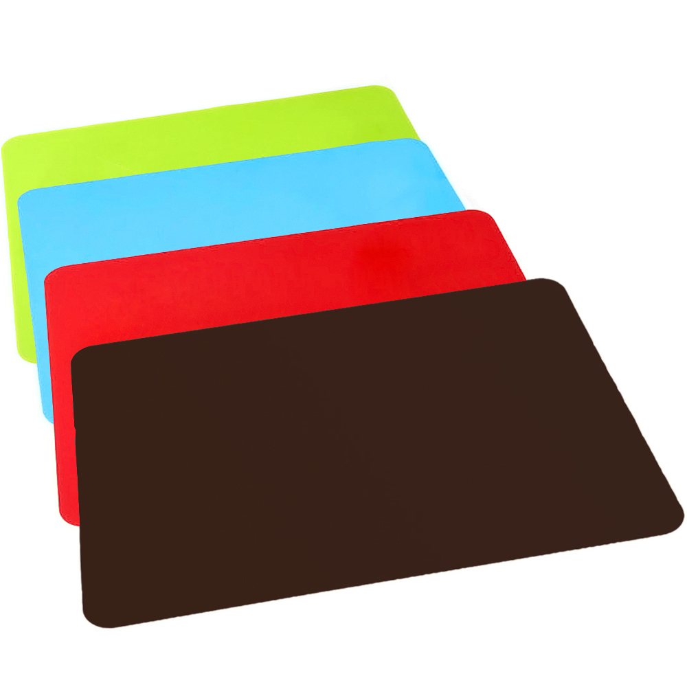 Silicone Placemat Heat Resistant Pads Cooking Baking Over Table Kitchen Mat  Bakeware Table Heat Insulation Mat