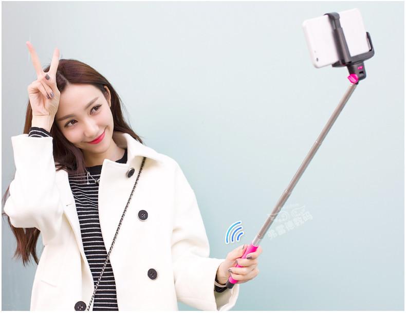 Держатель для мобильных телефонов Bluetooth Selfie iPhone Samsung HTC L107-A штатив 2015 bluetooth iphone samsung htc l107 e