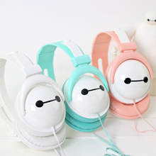 2016 Hotsale Macaron Headset Cartoon Candy Color Cute Headphones Foldable Kids Gift Headset for Mp3 Smartphone Free Shipping