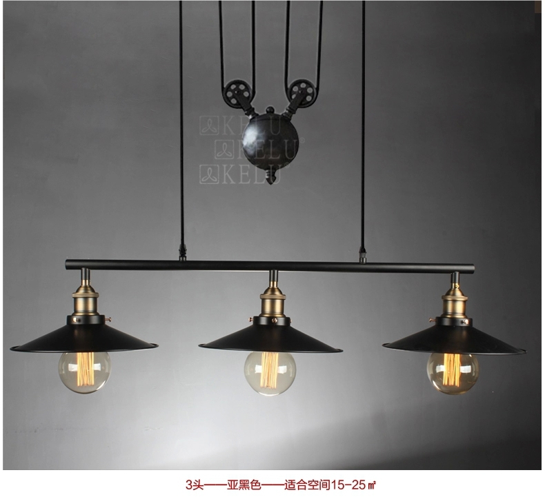 Popular vintage lights buy cheap vintage lights lots from for Lamparas colgantes led