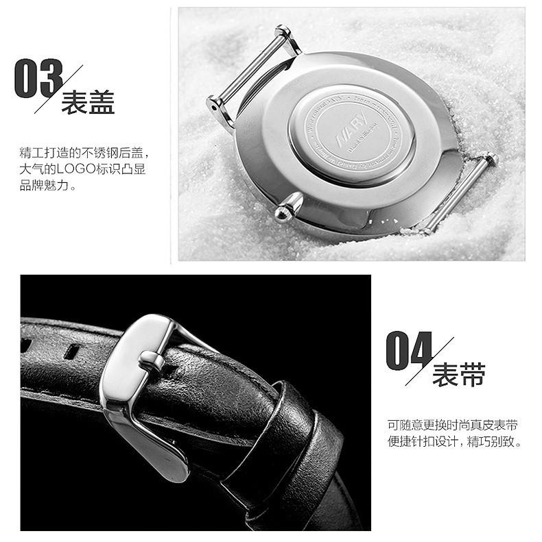 Nary Мода Часы Женщины Мужчины Luxury Brand Серебряные Часы Кожаный Ремешок Любители Наручные часы Простой Кварцевые Часы Relogio Masculino