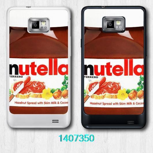 ZD Free Shipping Nutella Bottle Hard Cover Case For Samsung Galaxy S2(China (Mainland))