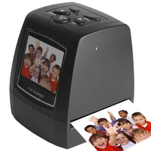 Portable 2.36inch USB 2.0 5MP LCD Screen 35mm Negative Film Scanner with High Resolution 1pcs Free Shipping!(China (Mainland))