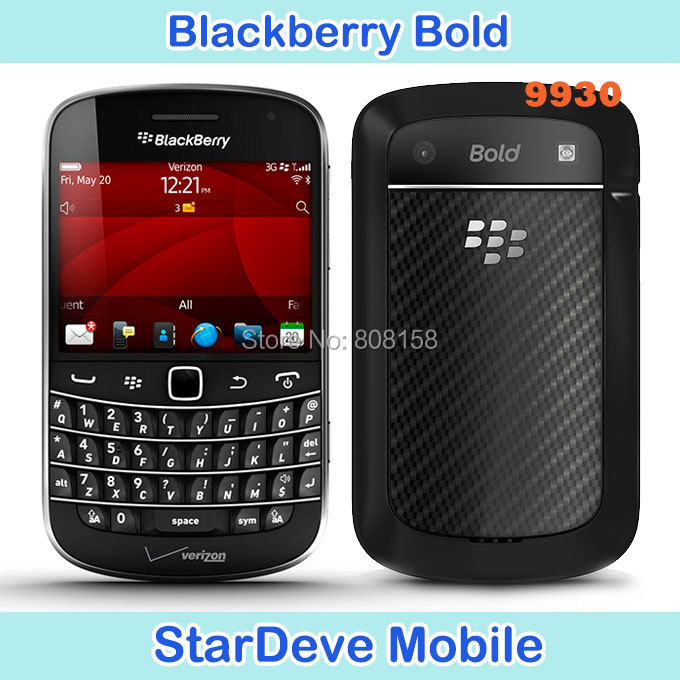 Hot sale Blackberry 9930 Original unlocked Refurbished Blackberry Bold Touch 9930 mobile phone 5.0MP Camera 8GB Internal memory(China (Mainland))