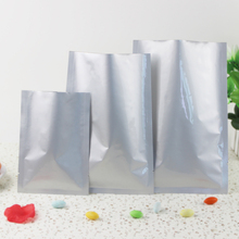 30pcs/lots 36cm*48cm*200micron High Quality Large AL Foil Frozen Food Packaging Flat Bags(China (Mainland))