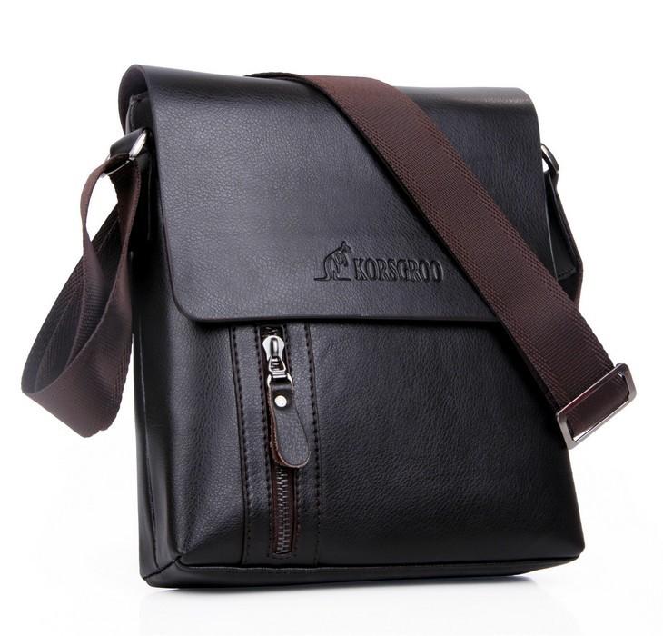 New collection KRG kangaroo men bags, men casual leather vintage messenger bag, designer man brand small crossbody shoulder bag(China (Mainland))