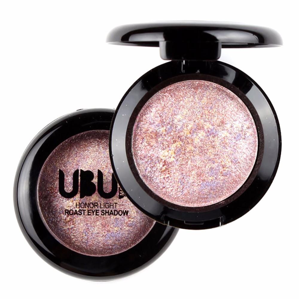 Único Baked sombra em pó Palette em Shimmer Metallic Eyeshadow Palette venda quente
