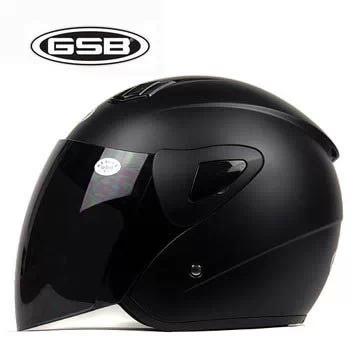 2014 New Arrivals 8 Colors GSB No. 227 Free Shipping Best ABS Motorcycle Helmet Black Lens Moto Summer Half Helmet Motorbike(China (Mainland))