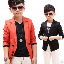 2016 Hot Sale children's spring casual suits boys jackets wholesale Korean style long sleeve blazers, C189(China (Mainland))