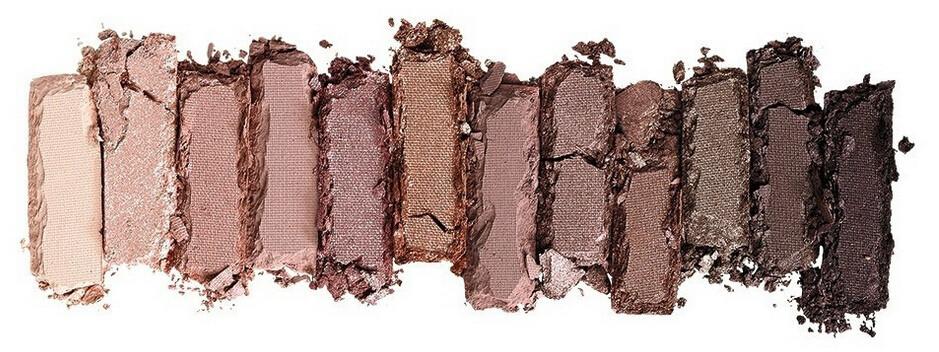 Новый nake 3 макияжа тени палитра подарок. 12 collors НК 3 теней кисти составляют набор