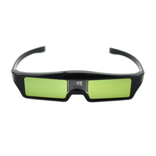 High Quality Lithium Battery Powered Cheap DLP Link Shutter 3D Glasses for DLP 3D Ready Projector(China (Mainland))
