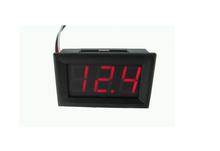 4.5-30V DC Car Motor Red LED Digital Voltmeter Gauge Volt Voltage Panel Meter LED Displays Free shipping(China (Mainland))