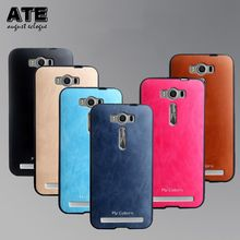 Case ASUS Zenfone 2 Laser ZE500KL Soft Silicone Leather Protective Back Cover Phone Shell - AUG ECLOGUE Store store