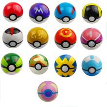 13Styles 1Pcs Pokeball + 1pcs Free Random Pokemon Go Figures Anime Action Figures Toys