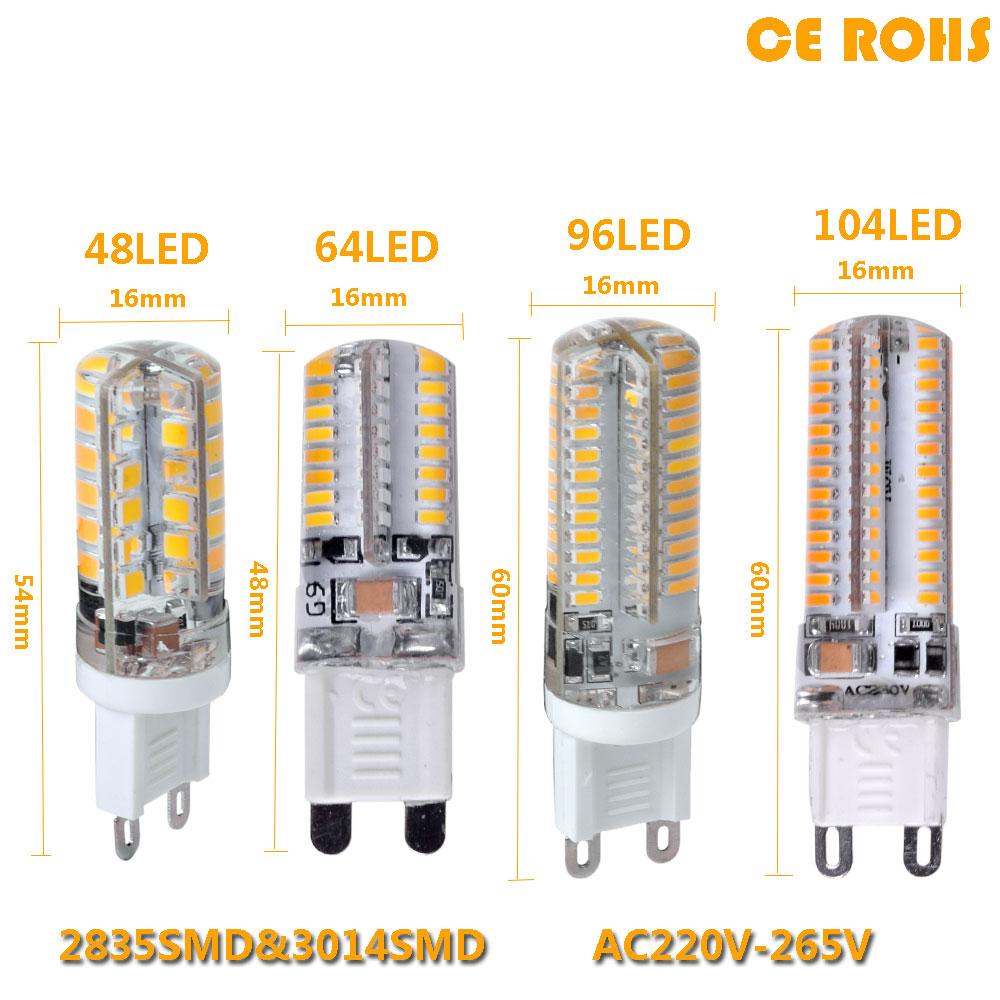 2017 Lowest price LED Bulb SMD 2835 3014 LED G4 G9 LED lamp 9W 10W 12W led Light DC12V AC220V 360 Degree Replace Halogen Lamp(China (Mainland))