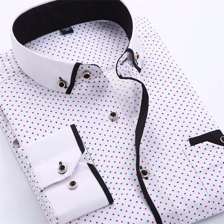 HTB1EztjJVXXXXaJXVXXq6xXFXXXT - Big Size 4XL Men Dress Shirt 2016 New Arrival Long Sleeve Slim Fit Button Down Collar High Quality Printed Business Shirts M014