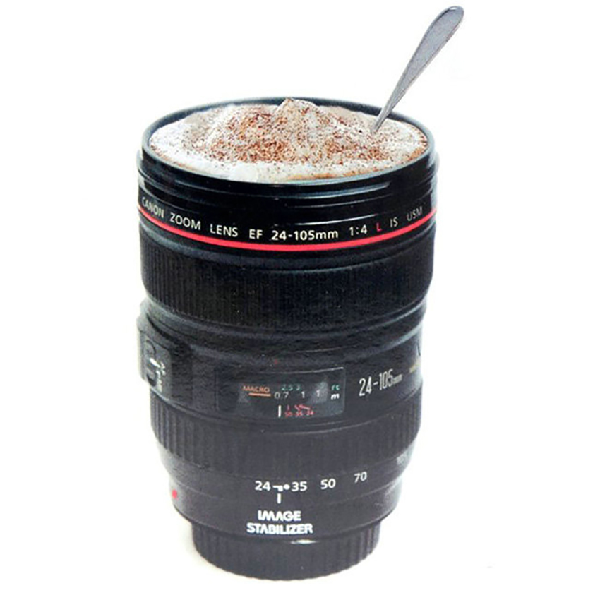 420ml SLR Camera Coffee Lens Mug cup 1 1 scale canon coffee cup 100 with CANIAM