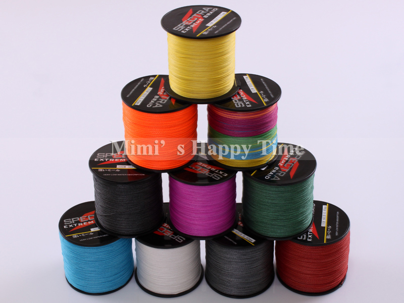 8 Strands 300M Spectra PE Braided Fishing Line Sea Saltwater Fishing Weave BIG GAME Extreme Super Strong 100% SuperPower(China (Mainland))
