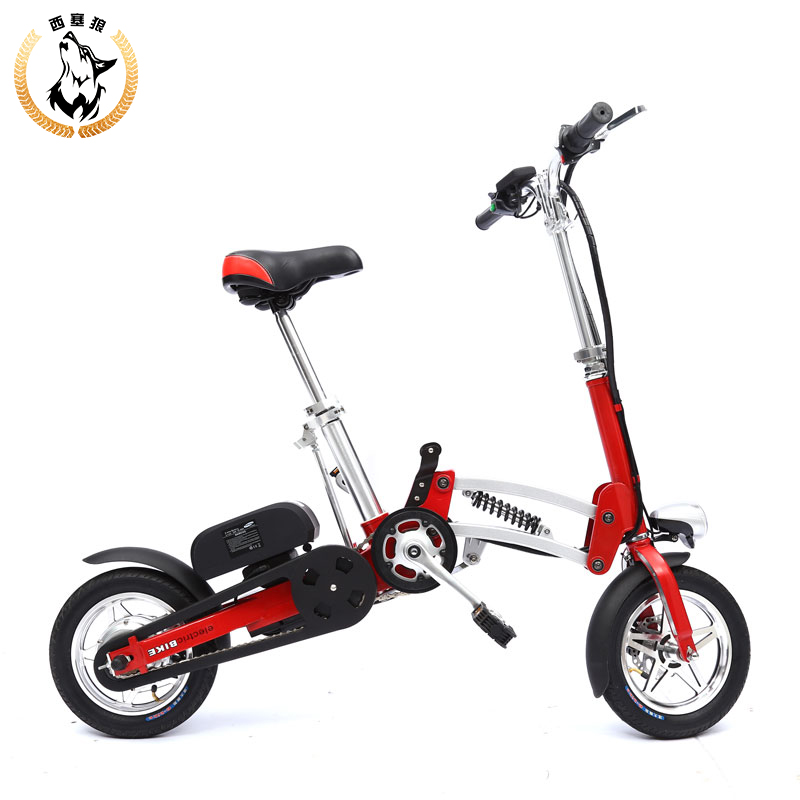 Mini folding electric folding bicycle lithium car battery car driving on behalf of ultra-light electric vehicles(China (Mainland))
