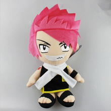 1 Pcs Retail 12″ 30cm Anime Cartoon Fairy Tail Natsu Plush Dolls Toys With Tag Christmas Gift