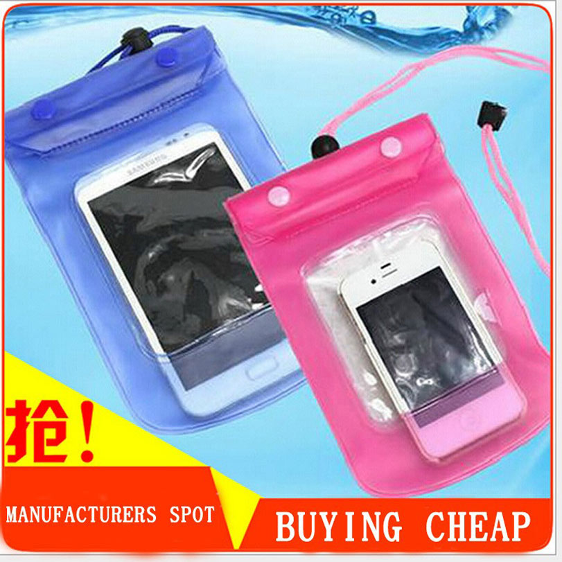 Mobile phone waterproof bag Case underwater water proof mobile phone accessories and spare parts for iphone4 4s 5 5s 6 Plus case(China (Mainland))