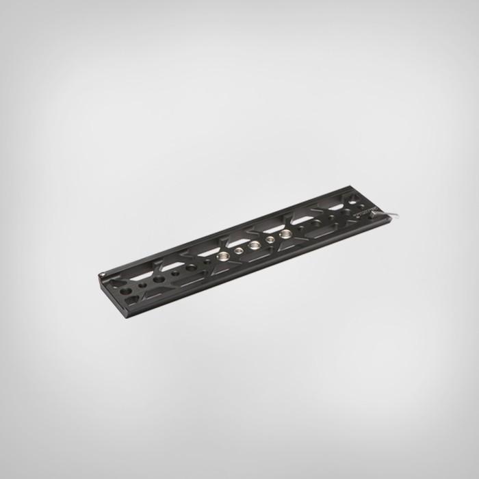 """ถูก T ilta TT-C16สีดำหรือสีเทา10นิ้วที่มีน้ำหนักเบาdovetailจานS ONY A7R A7S II 2 ES-T17A gimba RIG 1/4 """"และ3/8""""สกรูTT-016"""