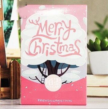 30pcs/set/ Kawaii Cartoon Friends Christmas series DIY Multifunction  postcard/BOOKMARK/Vintage LOMO CARD/wholesale<br><br>Aliexpress