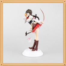 Anime Shining Hearts Neris with Bread Basket 1/8 Scale Pre-painted PVC Action Figure Collection Model 22cm