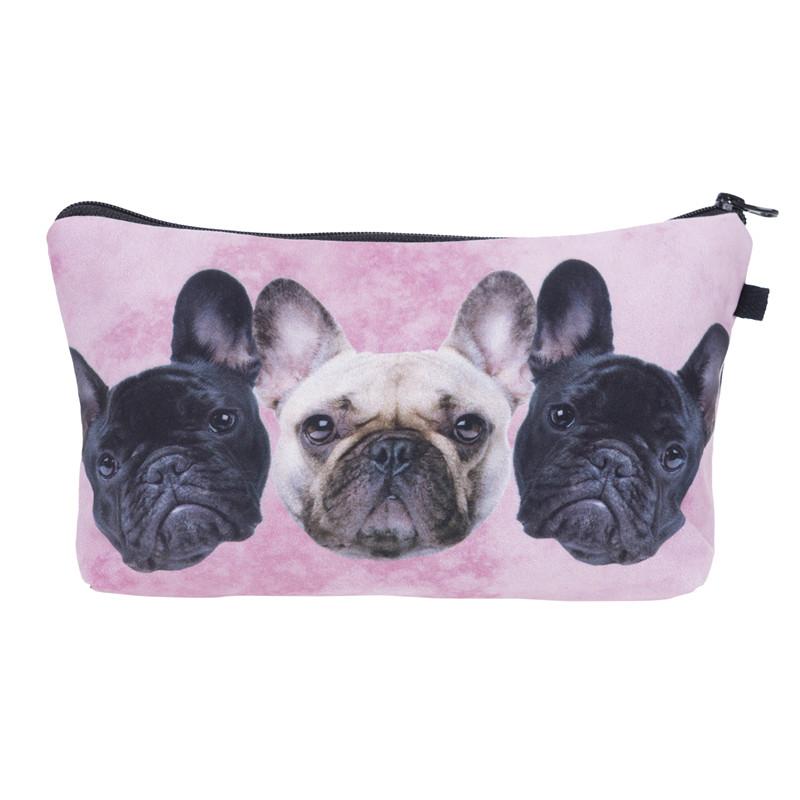 Who Cares Sunglasses Cat 3D Printing Necessaire Women Cosmetics Bags Travel Make up Bag Organizer Maleta de Maquiagem Makeup Bag