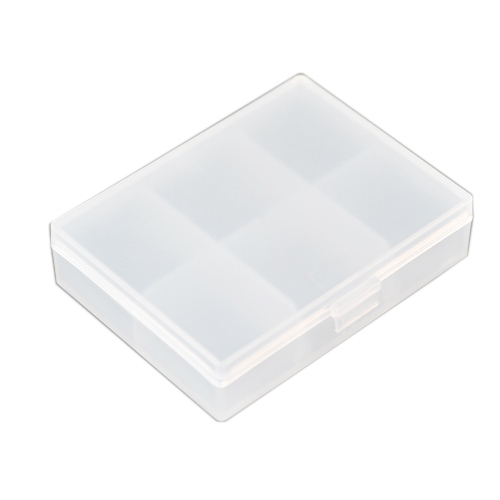 6 Grid Rectangle Shape Frosted Medicine Pill Drug Storage Box Case HY23066(China (Mainland))