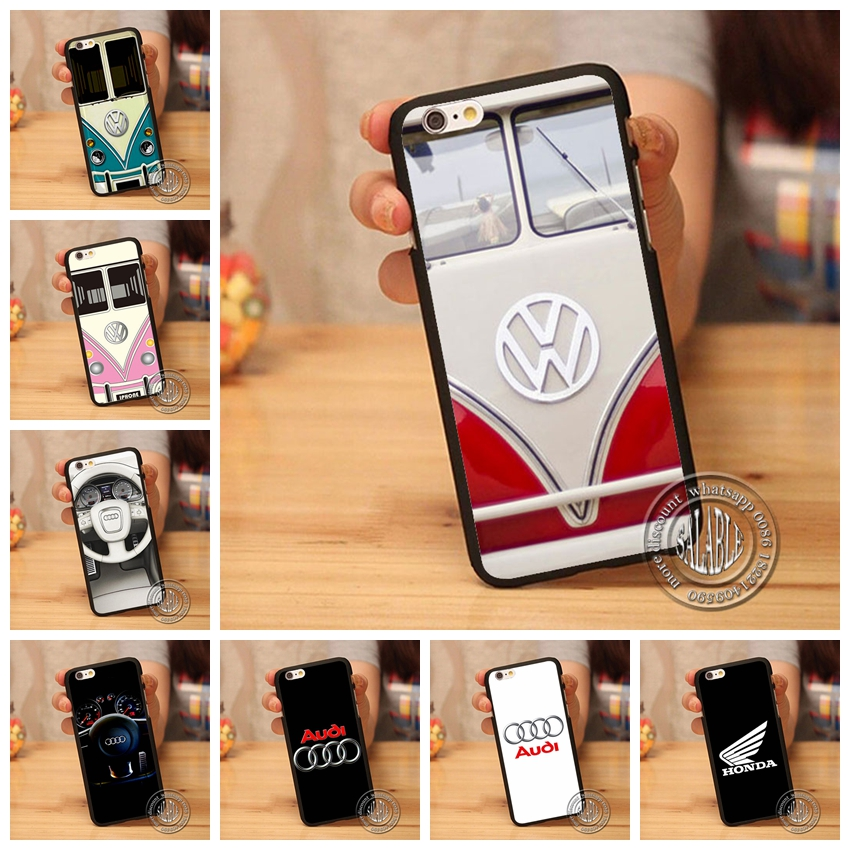 Mazda Honda Jdm Dohc Vtec Jeep VW Volkswagen Bus Logo Phone Case Cover for iPhone 4 4S 5 5S SE 5C 6 6S Plus 4.7 5.5 inch(China (Mainland))