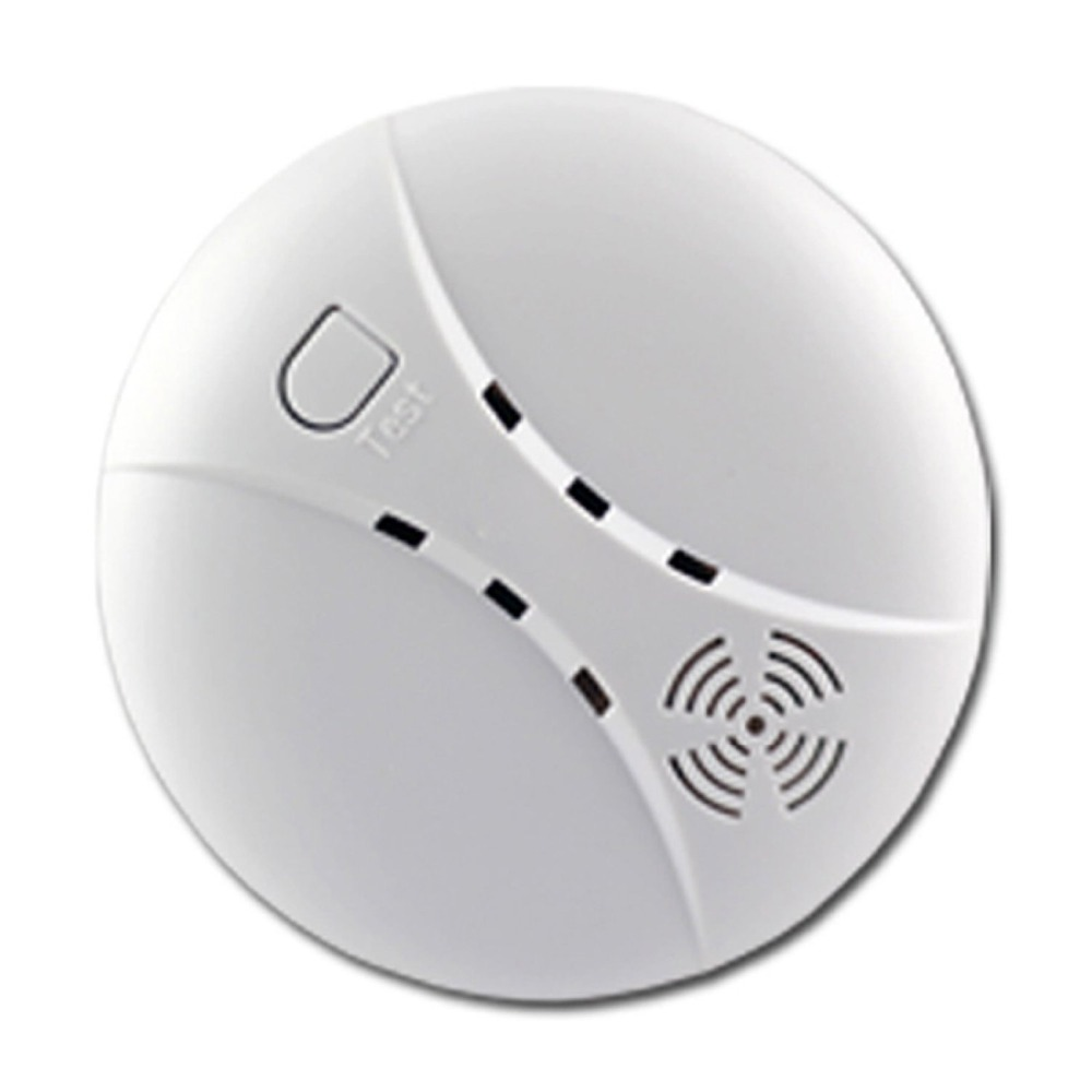 10 pieces/lot Wireless Smoke/Fire Detector for Wireless Touch Keypad Panel Wifi GSM Home Security Burglar Voice Alarm System<br><br>Aliexpress