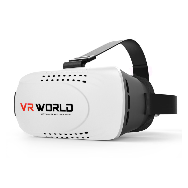 2016 Google Cardboard VR BOX Version Virtual Reality 3D Glasses + Smart Bluetooth Wireless Remote Control Gamepad(China (Mainland))