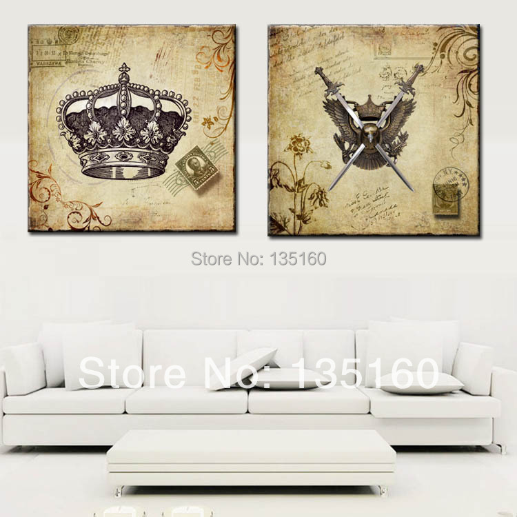 Classical picture wall art canvas european retro imperial for Imperial home decor