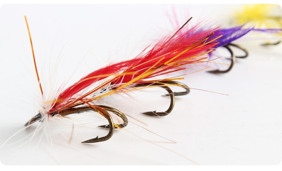 Fly fishing flies trout bass fly fishing lure baits with for Fly fishing lures for bass