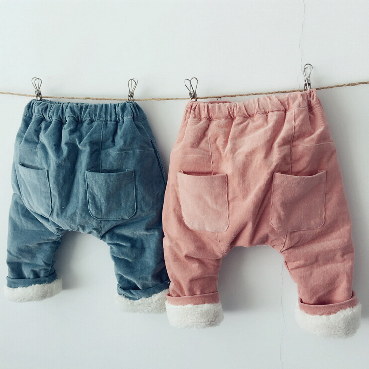 2016 winter kids warm thickened harem pants winter kids warm thickened harem pants children corduroy trouses<br><br>Aliexpress