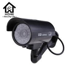 Dummy Camera Fake Free Shipping Outdoor Indoor Weatherproof Fake Surveillance Camera CCTV Security Camera Flashing Red LED Light(China (Mainland))