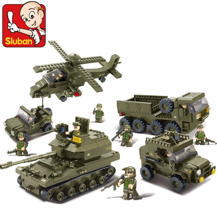 Building Block Sets Compatible lego military United offensive 3D Construction Brick Educational Hobbies Toys Kids
