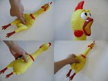 2014 new strange toys screaming chicken out decompression toys children's fun toys for Christmas(China (Mainland))