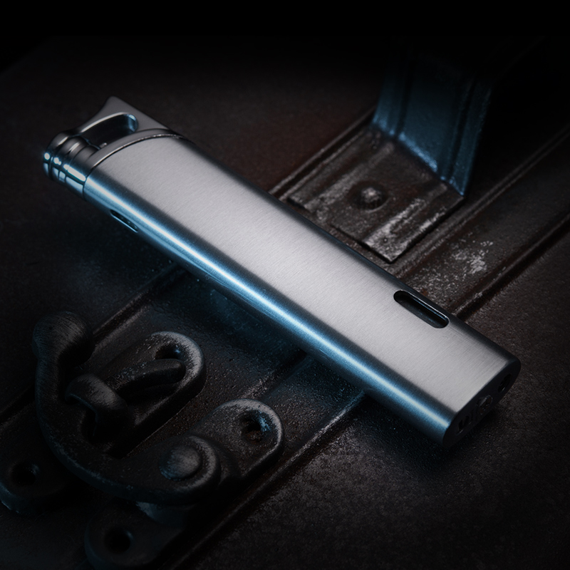 2016 fashion high quality honest windproof refillable adjustable butane gas jet flame torch lighter welding camping lighter no(China (Mainland))