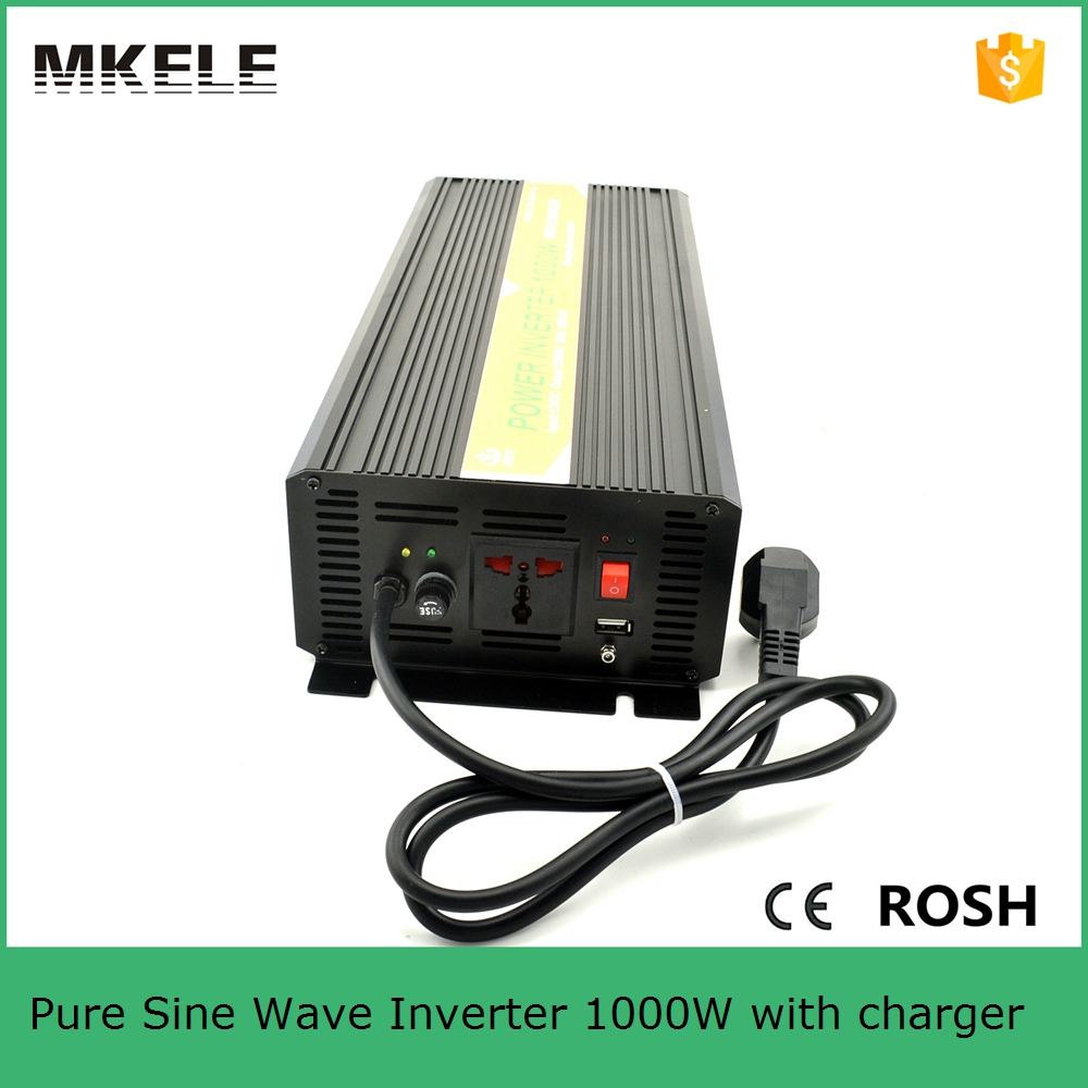 MKP1000-121B-C micro power inverter 12v 110v inverter 1000w power inverter circuit 12v 110v pure sine wave inverter with charger(China (Mainland))