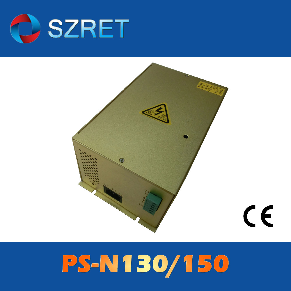 PS-N130/150 130W 150W EFR CO2 laser power supply PSU for EFR CO2 laser tube F4 and ZN-1450(China (Mainland))
