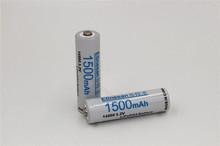 2pcs/lot Etinesan lifepo4 3.2V 1500mAh LiFePO4 lithium li-ion 14500 AA Rechargeable Battery Free Shipping(China (Mainland))