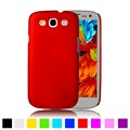 Matte Rubberized Hard Plastic Case For Samsung Galaxy S3 Neo S III i9300 Duos i9300i i9301