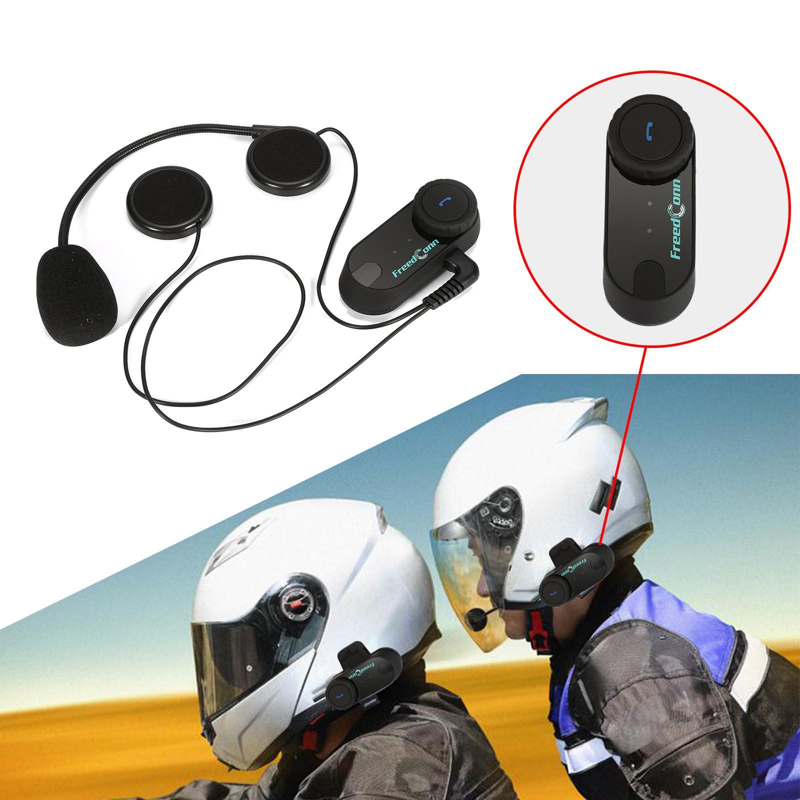 Free Shipping!!2016 Updated Version Original Bluetooth Motorcycle Helmet Intercom Interphone Headset Headphone aECQ