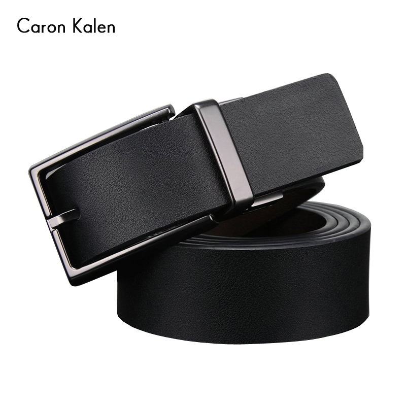 2017 Brand Designer Belts Men High Quality Two sided use Cowhide Fashion Leather Buckle Men Belt Luxury Bussiness Casual(China (Mainland))
