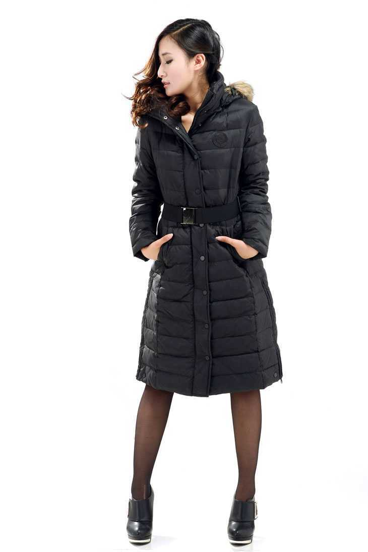 Фотография Winter Down Coat Women 2016 Fashion Fur Hooded Slim Waist X-Long Down Parkas Women Thicken Wadded Outerwear Plus Size XXL H6358