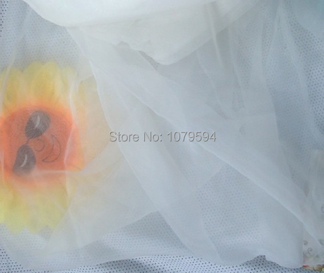 Multifucntiona tulle organza voile fabric,ivory for wedding cloth DIY tent,skirt,home decorationveil,curtain,cloth wholesale(China (Mainland))