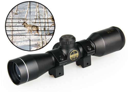 hot sale airsoft tactical optical sight 4x32 rifle scope  for hunting for shooting<br><br>Aliexpress